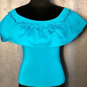 Beautiful Guess by Marciano Sarah Off-Shoulder Top
